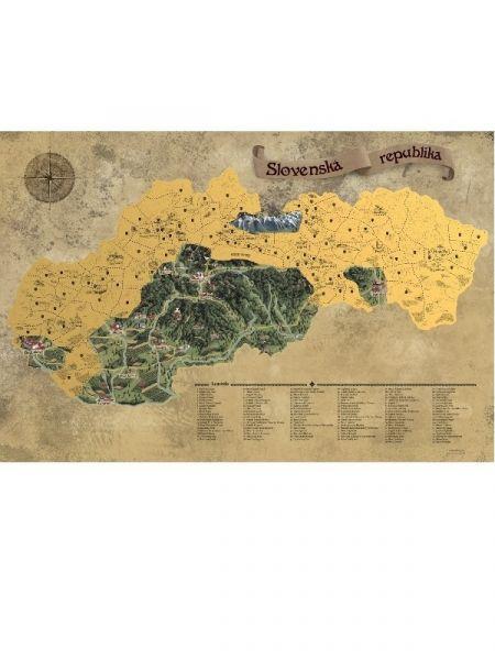 Stieracie mapy