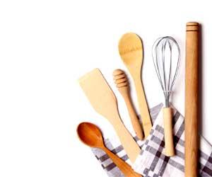Drevené kuchynské potreby