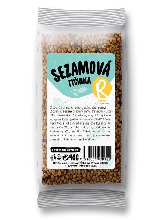 Ravita sezamová tyčinka 40g