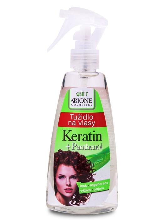 Bione Cosmetics - Tužidlo na vlasy Keratin + Panthenol 200ml