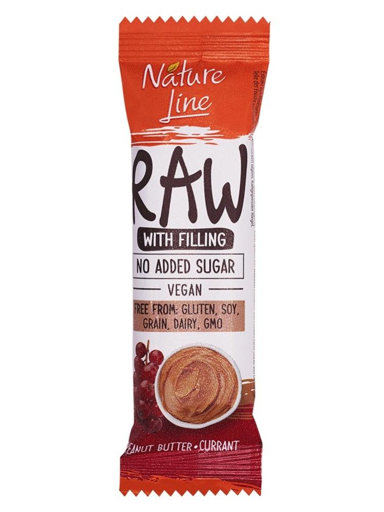 Pečivárne liptovský hrádok RAW tyčinka arašidy ríbezľa 45g