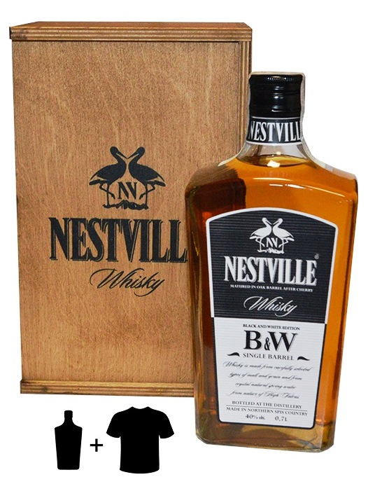 Whisky Nestville B&W edition box 40% 0,7L