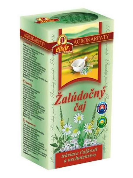 Agrokarpaty žalúdočný čaj 20x2g