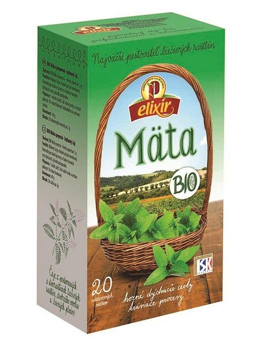 Agrokarpaty mäta bio bylinný čaj 20x2g