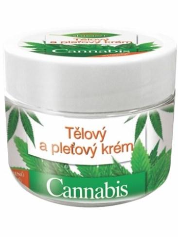 Bione Cosmetic - Telový a pleťový krém Cannabis 260ml