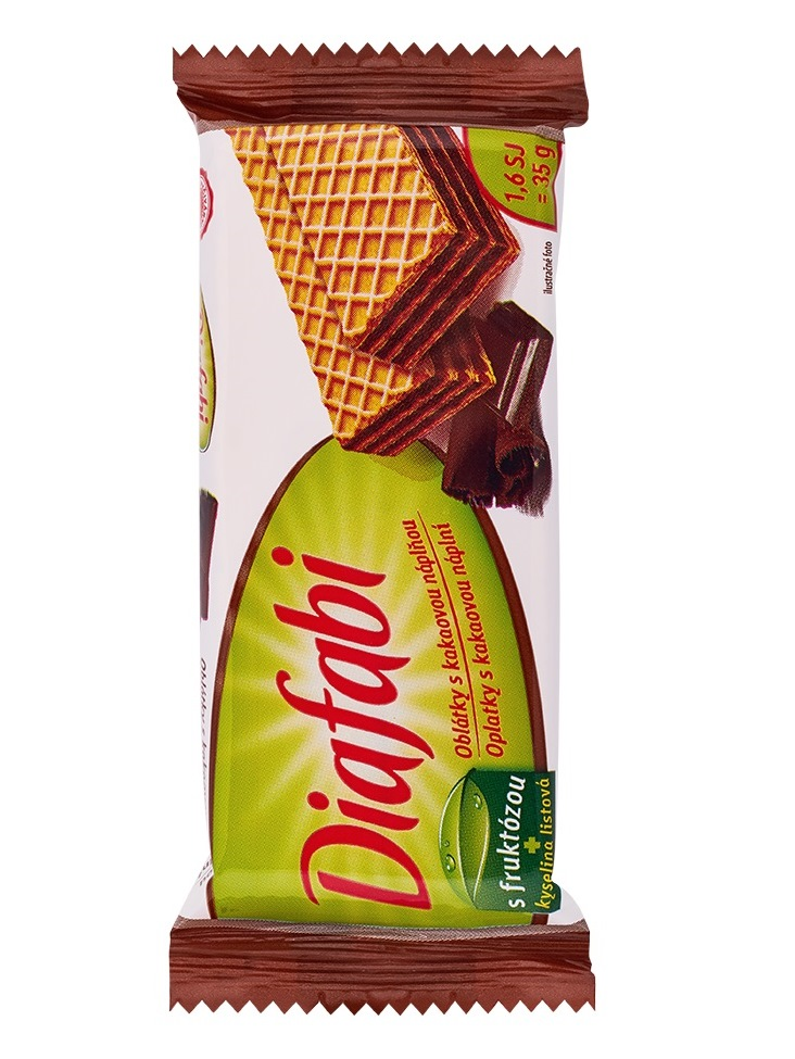 Pečivárne liptovský hrádok Diafabi oblátka kakaová 35g