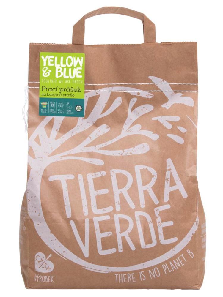 Tierra Verde prací prášok na farebné prádlo - vrecko 5kg