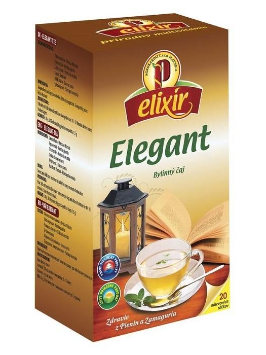 Agrokarpaty elixír elegant bylinný čaj 20x1,5g