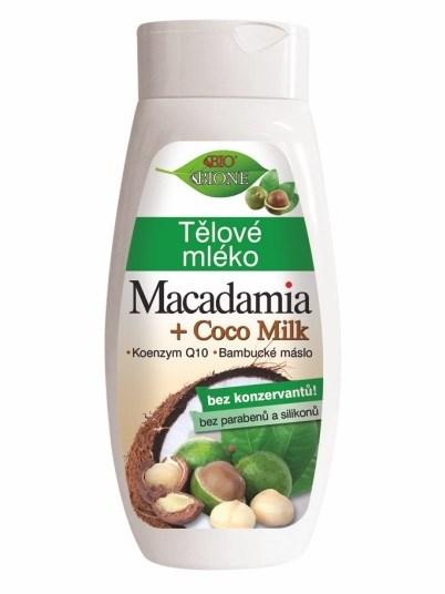 Bione Cosmetics - Telové mlieko Macadamia 400ml