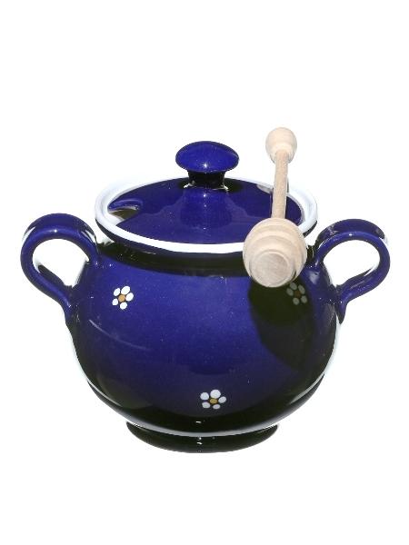 Medník veľký modrý - nádoba na med