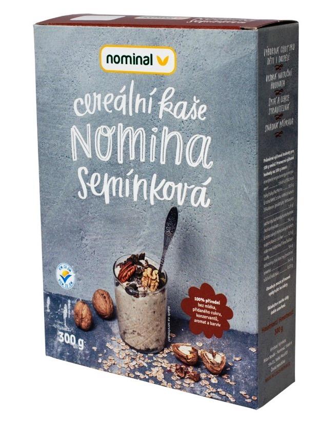 Nominal Cereálna semienková kaša NOMINA 300g