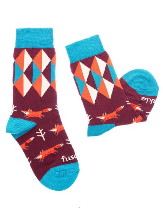 Fusakle ponožky detský lišiak