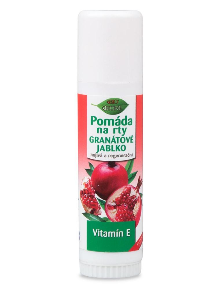 Bione Cosmetics - Pomáda na pery Granátové jablko 17 ml