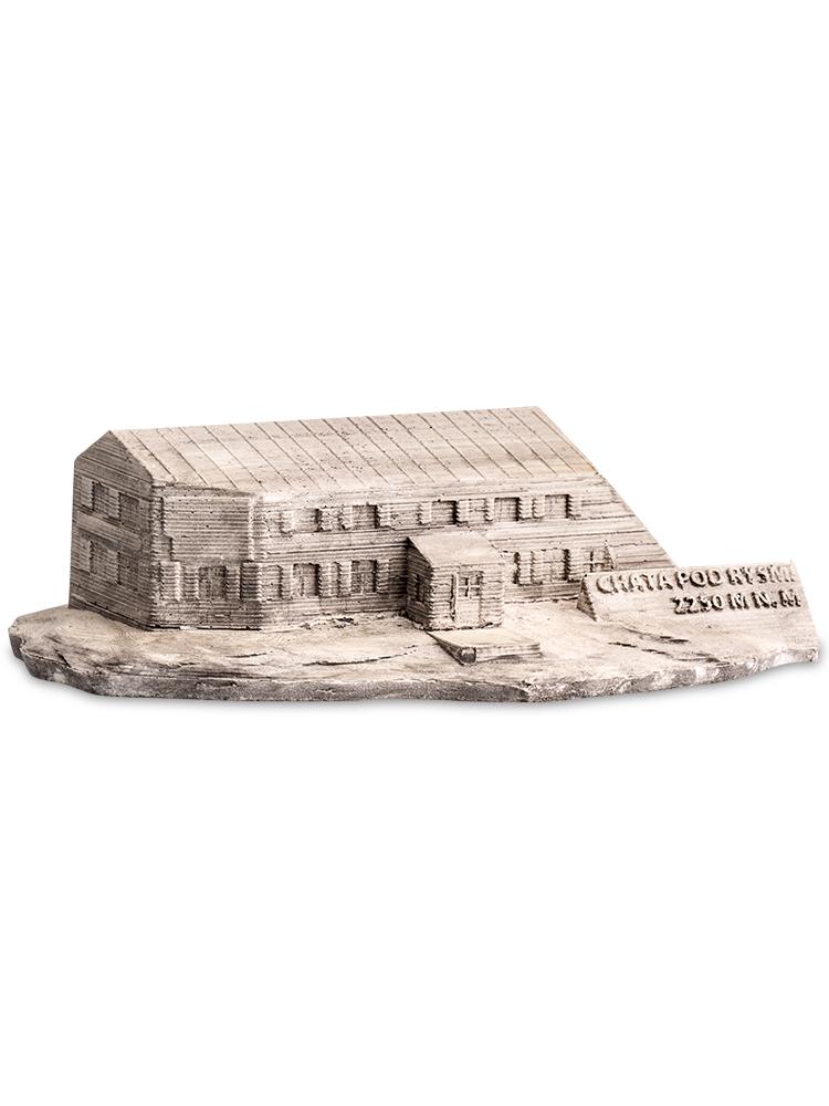 Chata pod Rysmi - miniatúry tatranských chát