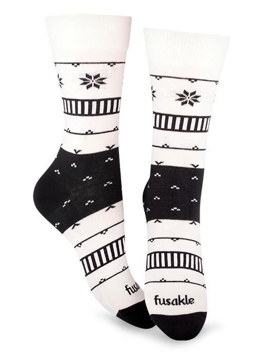 Fusakle ponožky na chalupe