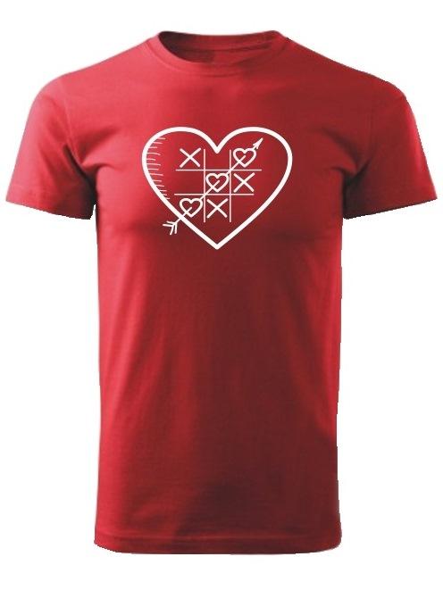 Tričko piškôrky Unisex Červené