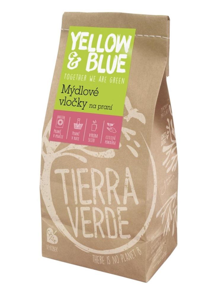 Tierra Verde mydlové vločky na pranie - vrecko 400g