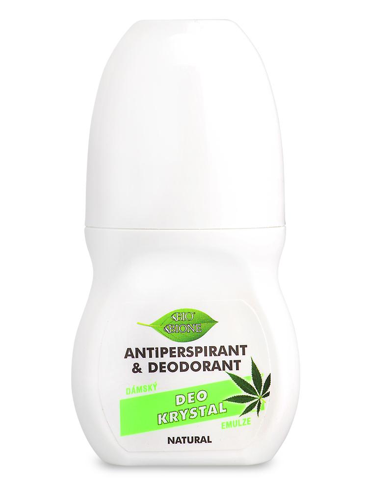 Bione Cosmetics - Antiperspirant & deodorant Deo Krystal dámsky Zelený 80ml