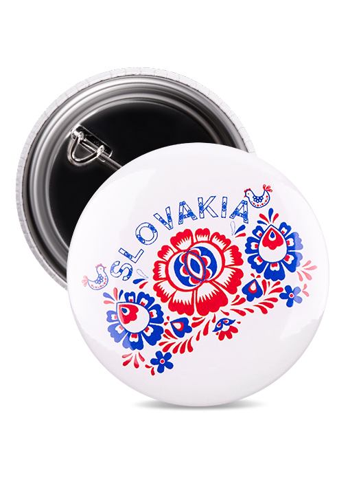 Odznak Slovakia kvet 1