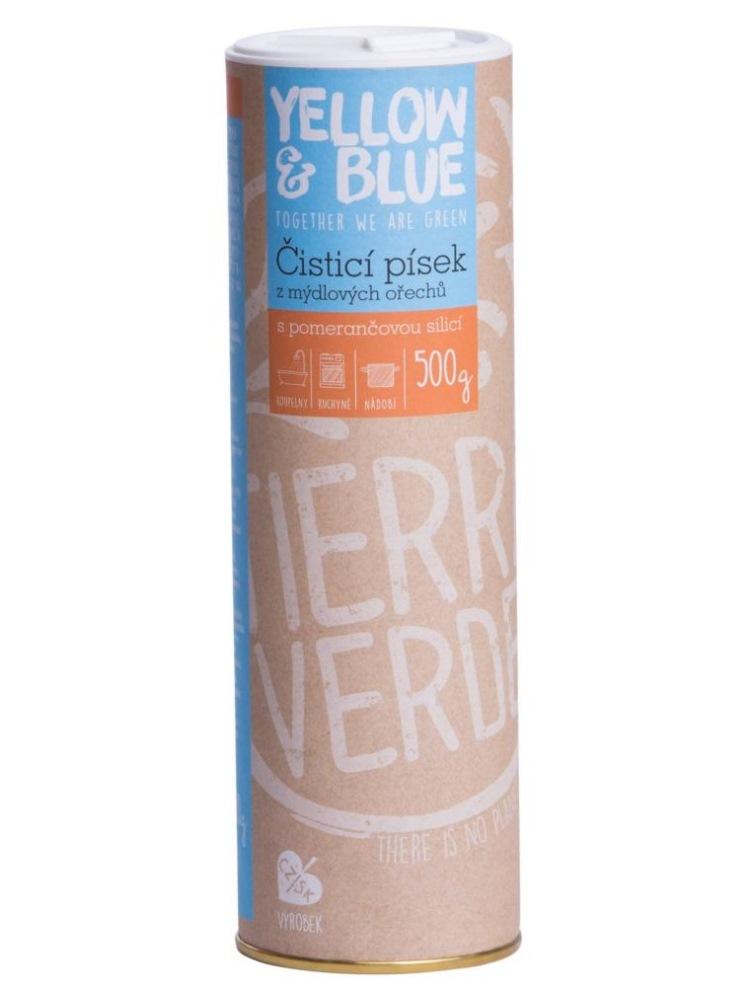 Tierra Verde čistiaci piesok s pomarančovou silicou - dóza 500g