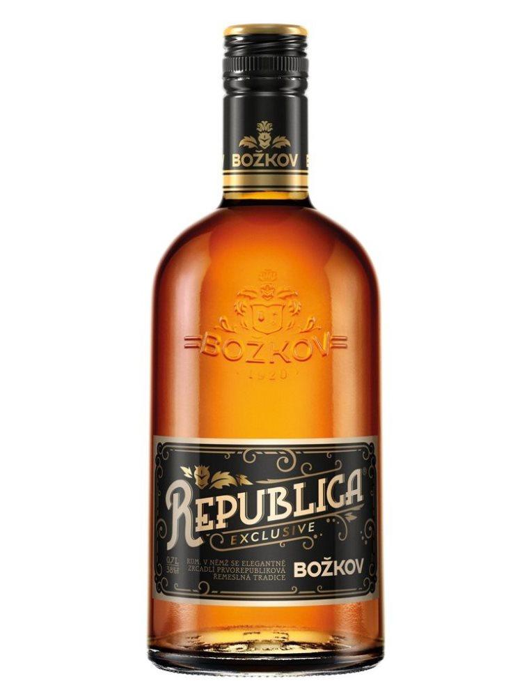 Rum Božkov republica exclusive 38% 0,7L