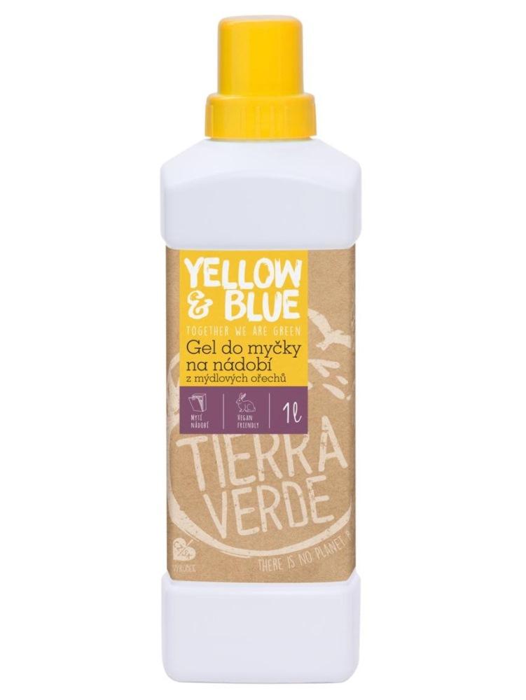 Tierra Verde gél do umývačky riadu z mydlových orechov - fľaša 1L