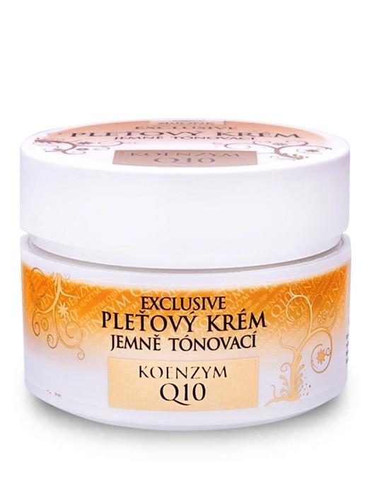 Bione Cosmetics - Jemne tónovací pleťový krém Exclusive + Q10 51ml
