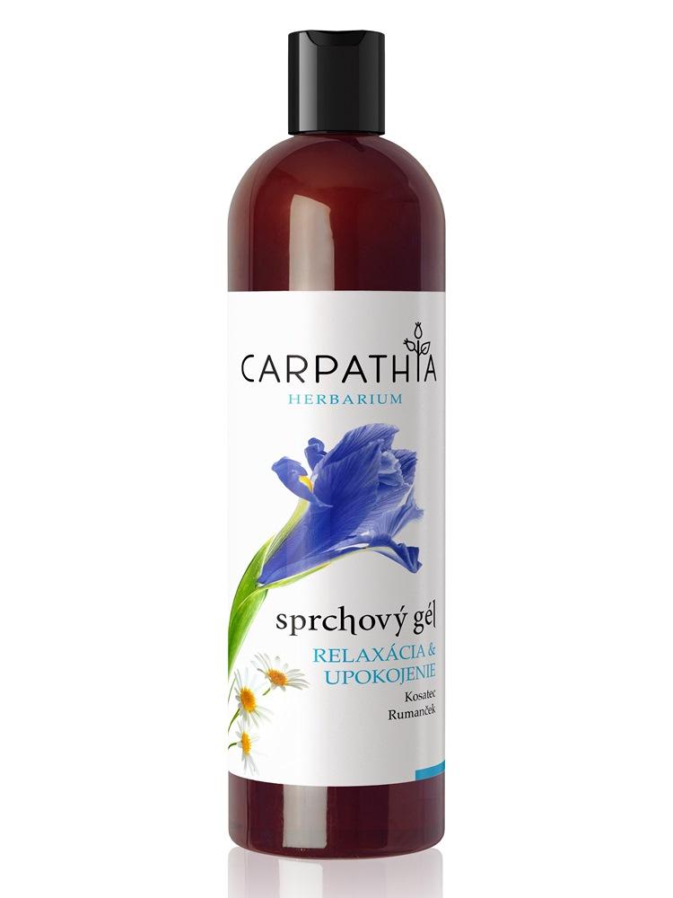 CARPATHIA Sprchový gél relaxácia & upokojenie 350 ml