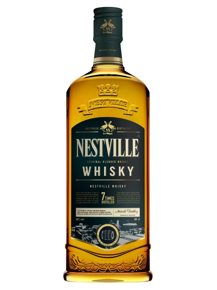 Whisky Nestville Blended 40% 0,5L