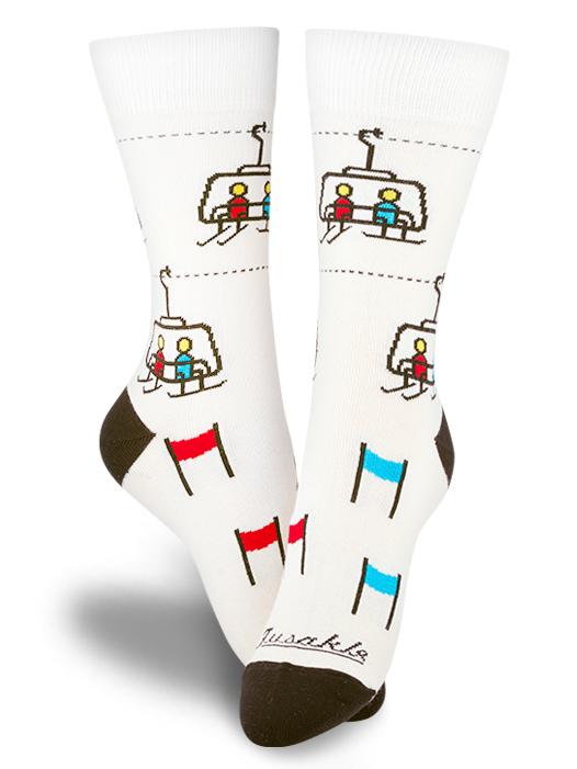 Fusakle ponožky Chopok zima