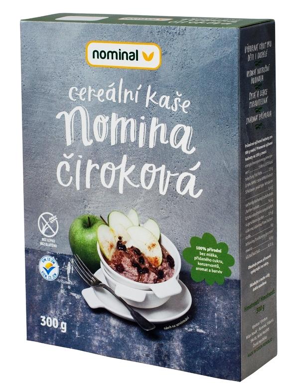 Nominal Cereálna ciroková kaša NOMINA 300g
