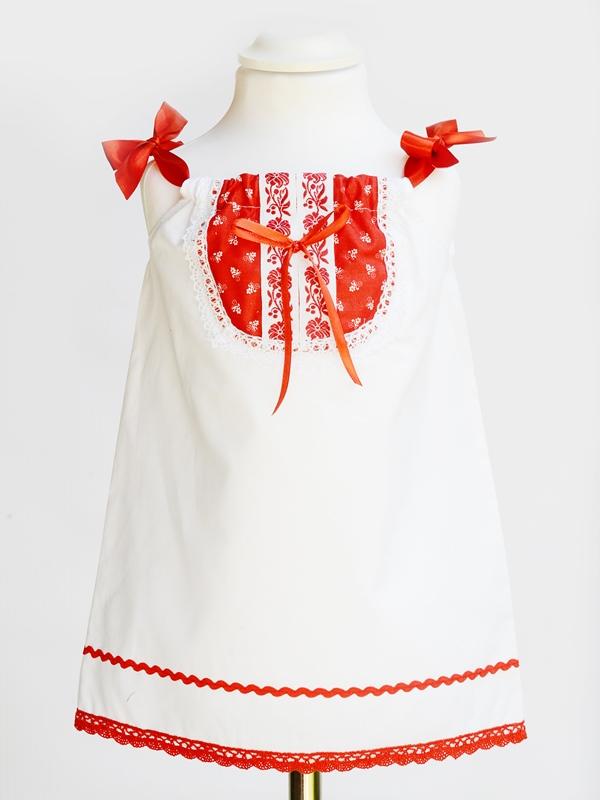 Dievčenské ľudové šaty LENKA 2v1