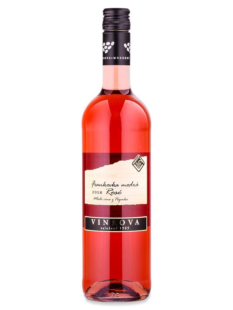 Frankovka modrá rosé - VINKOVA 0,75L