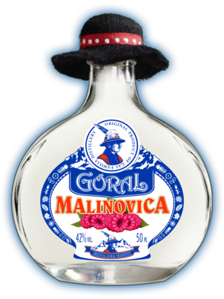 Goral Malinovica 42% 0,05l