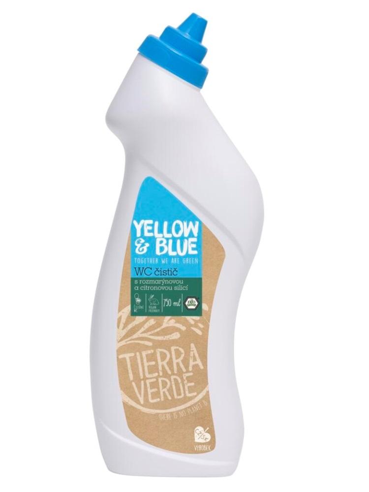 Tierra Verde WC čistič s rozmarínovou a citrusovou silicou - fľaša 750ml