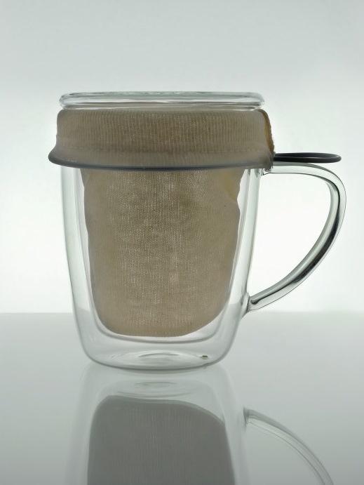 Bavlnený filter na lúhovanie čaju