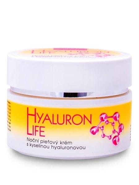 Bione Cosmetics - Nočný pleťový krém Hyaluron Life 51ml