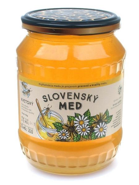Golitko kvetový včelí med -  viacdruhový jarný 950g