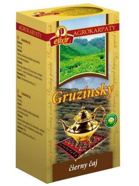 Agrokarpaty gruzínsky čierny čaj 20x2g