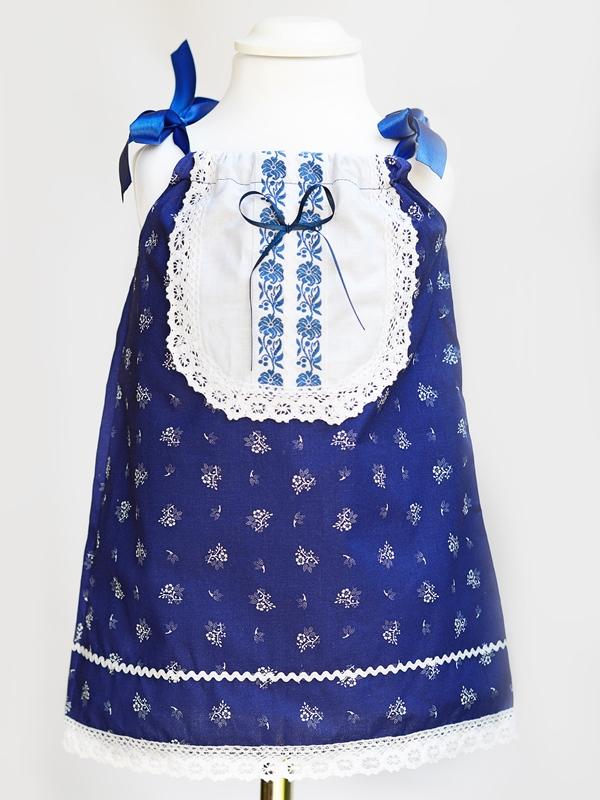 Dievčenské ľudové šaty KRISTÍNA 2v1