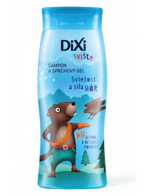 DIXI Šampón a sprchový gél Sviežosť a sila hôr Svište 250ml