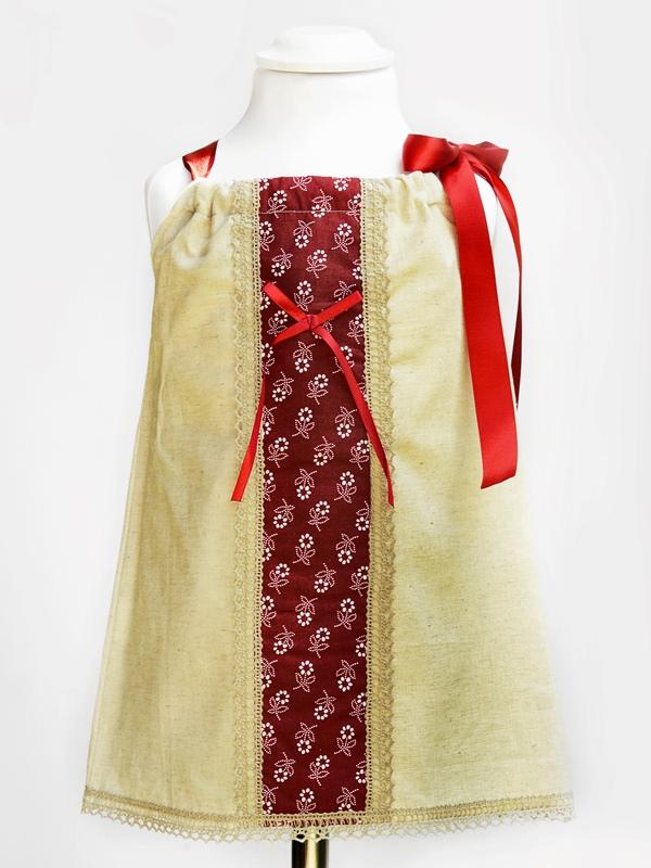 Dievčenské ľudové šaty EMA 2v1