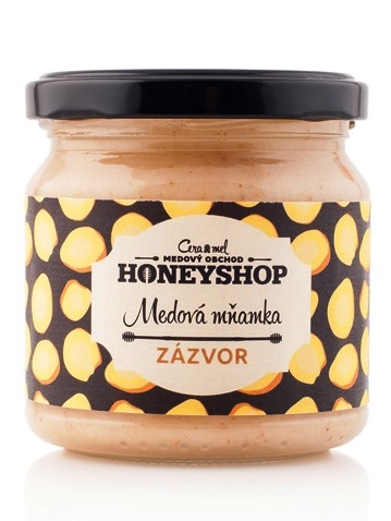 Medová mňamka ZÁZVOR 250g