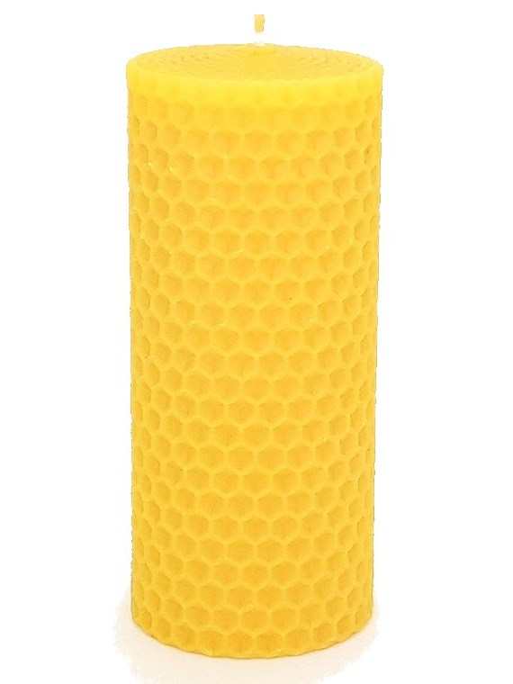 Sviečka včelí vosk žltá 110mm/50mm