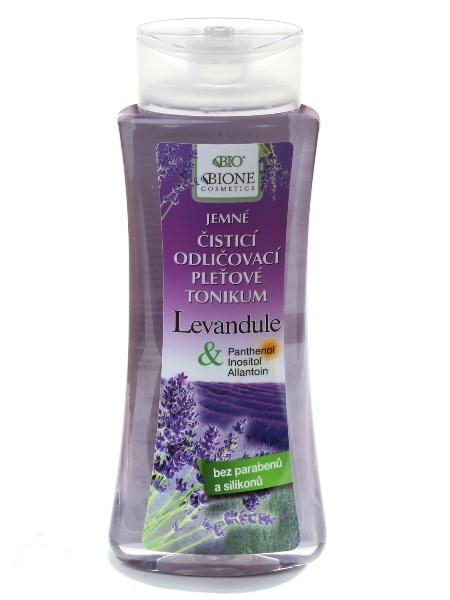 Bione Cosmetics - Odličovacie pleťové tonikum Levanduľa 255 ml