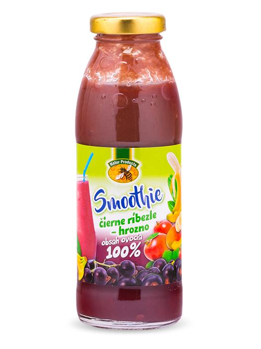 Natur products smoothie čierna ríbezľa - hrozno 100% 300ml