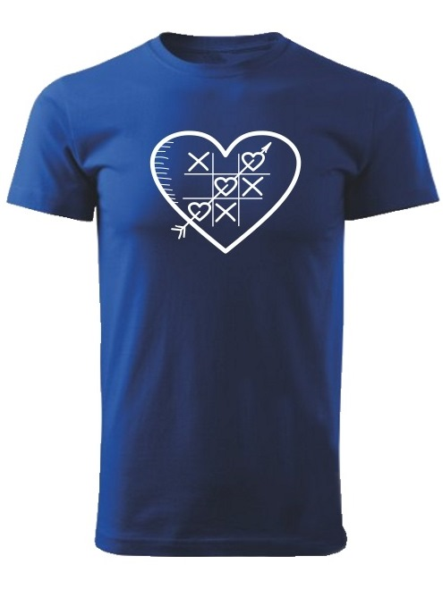 Tričko piškôrky Unisex Kráľovské modré