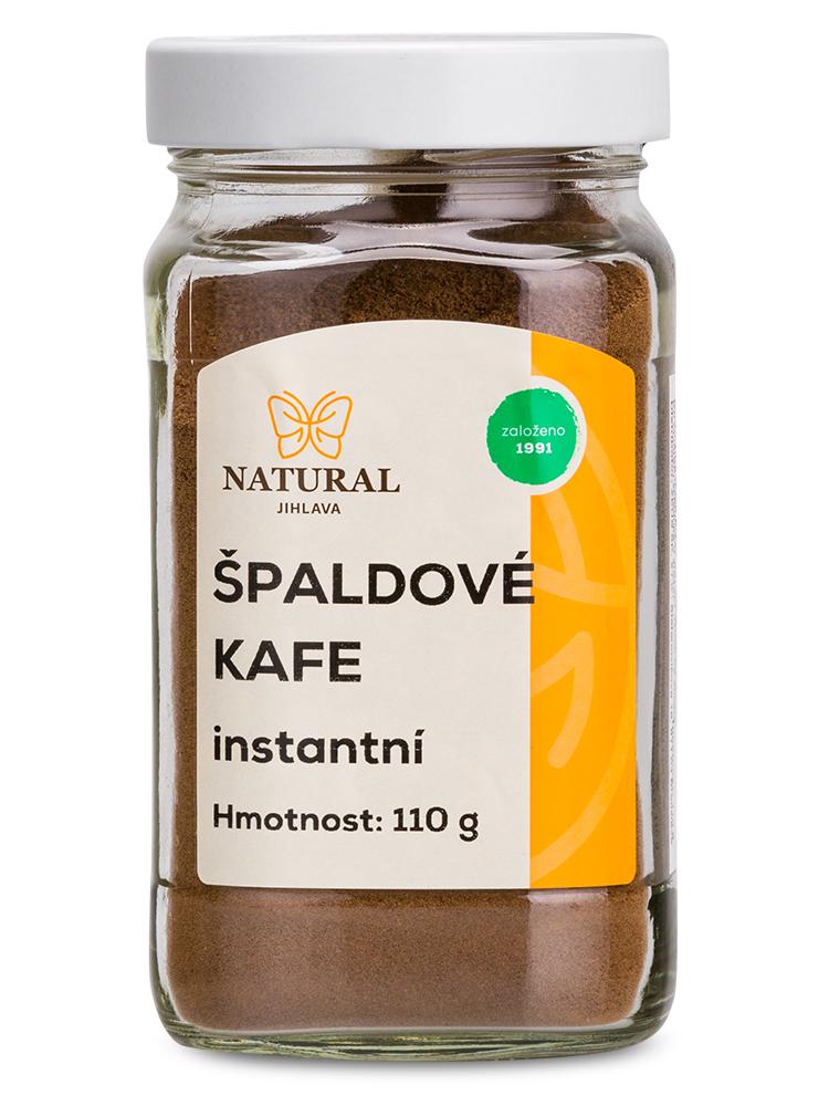 NATURAL JIHLAVA Špaldová káva - instantná 110g
