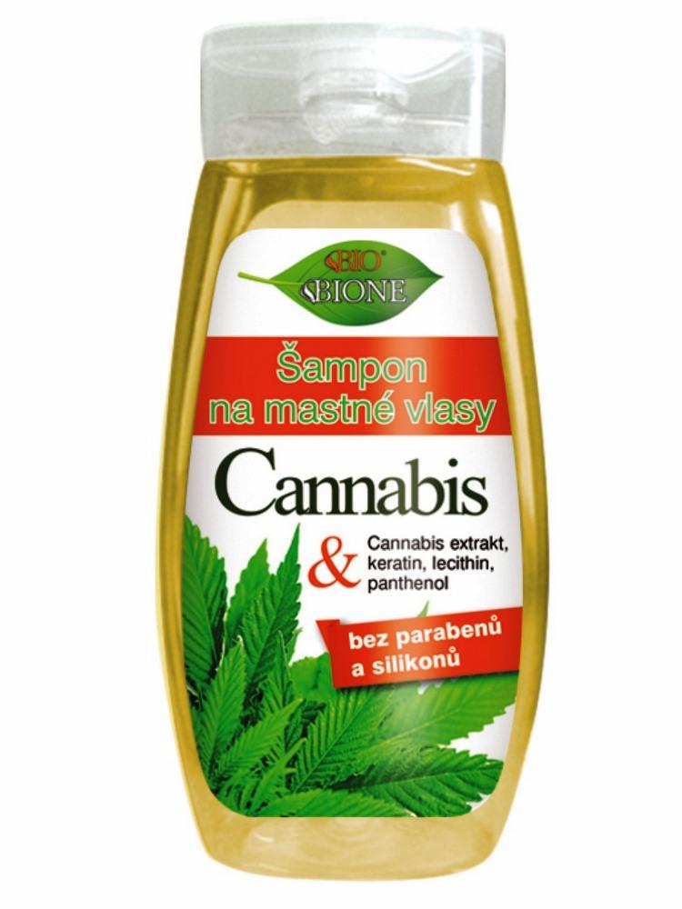 Bione Cosmetics - Šampón na mastné vlasy Cannabis 260ml