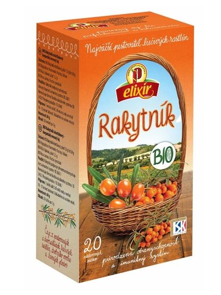Agrokarpaty rakytníkový čaj bio prírodný multivitamín 20x3g